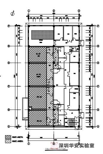深圳p3实验室平面工艺设计