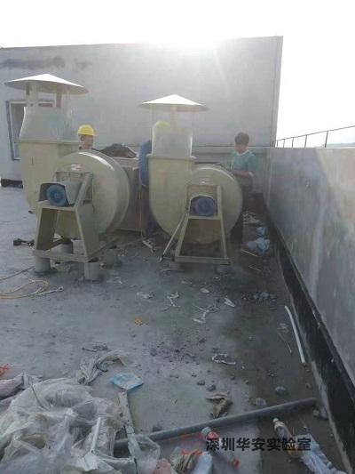 湖北龙翔药业实验室装修设计